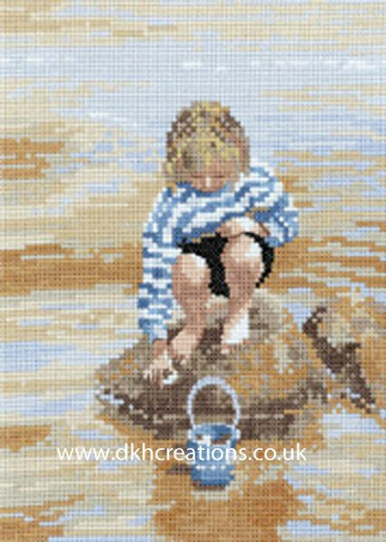 The Shell Collector Cross Stitch Kit
